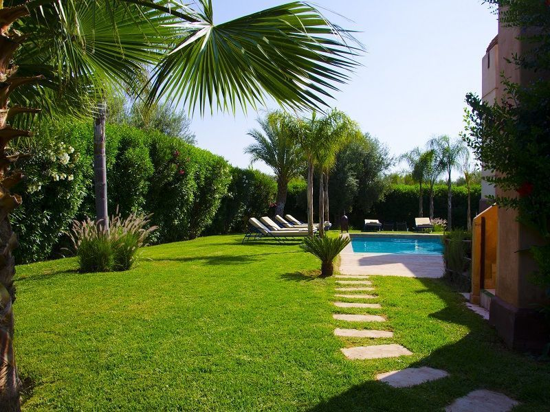 Jardin Location Villa 86815 Marrakech
