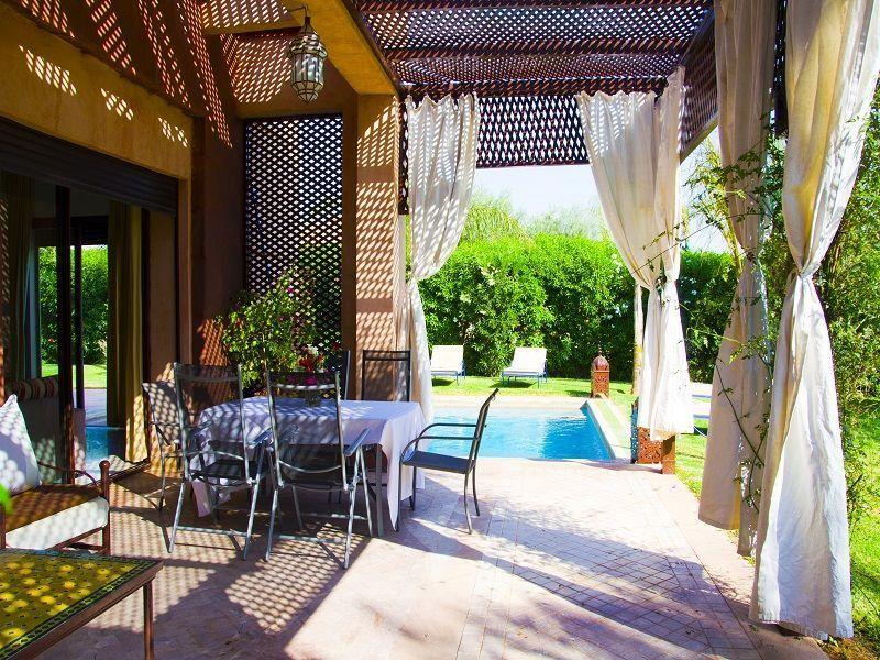 Terrasse Location Villa 86815 Marrakech