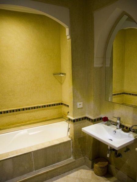 salle de bain 1 Location Villa 86815 Marrakech