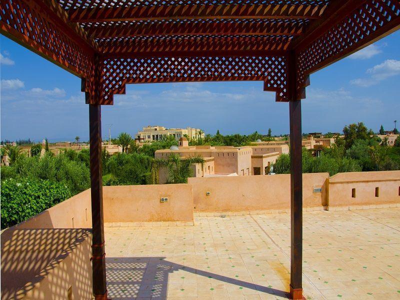 Vue de la terrasse Location Villa 86815 Marrakech