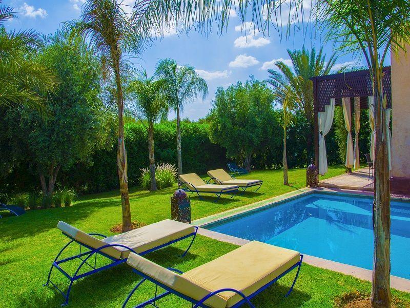 Piscine Location Villa 86815 Marrakech