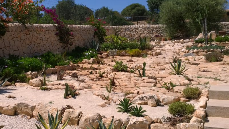 Jardin Location Villa 91710 Sampieri