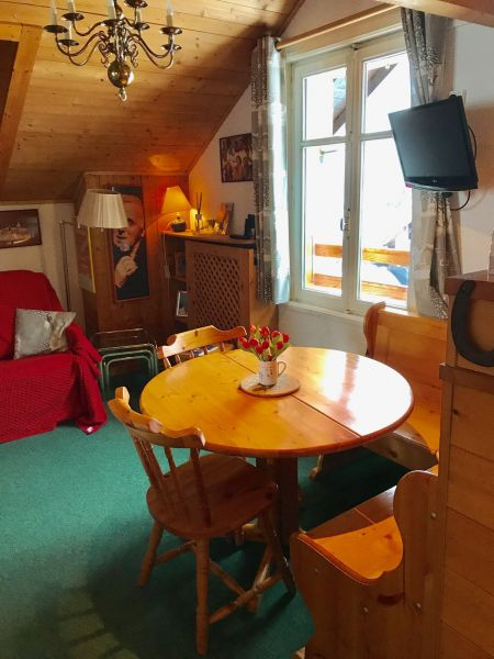 Salon Location Appartement 92618 Megève