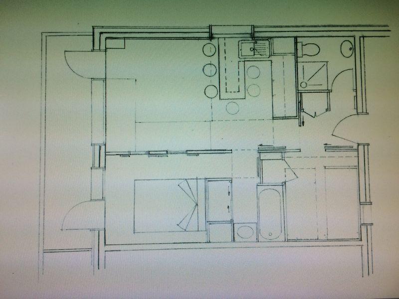 Plan de la location Location Appartement 93583 Les Arcs