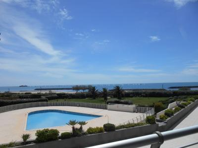 Vue de la terrasse Location Appartement 93876 Cap d'Agde