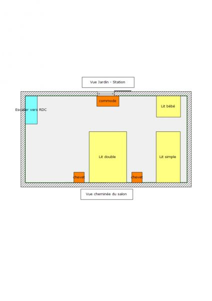 Plan de la location Location Chalet 94407 Puy Saint Vincent