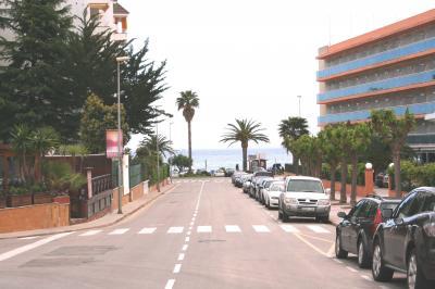 Vue ext�rieure de la location Location Appartement 96484 Lloret de Mar