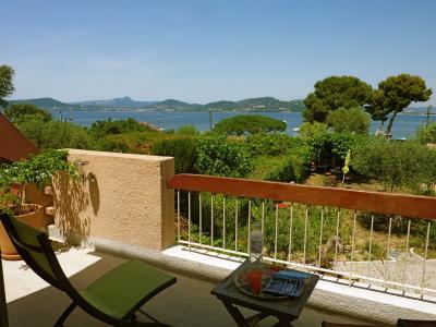 Vue depuis la location Location Villa 100115 Hy�res