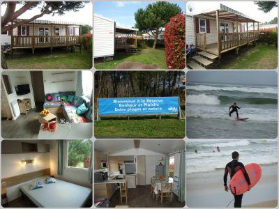 Location Mobil-home 103663 Biscarrosse