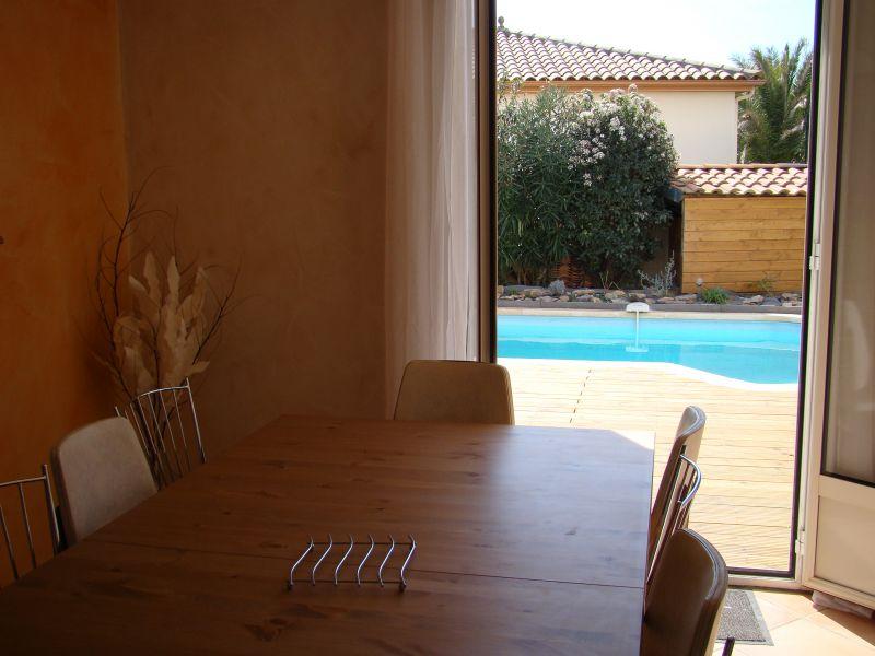 Vue depuis la location Location Villa 108631 Clermont l'Hérault