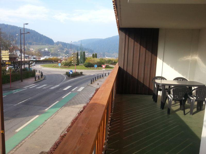 Vue du balcon Location Appartement 111817 Gérardmer