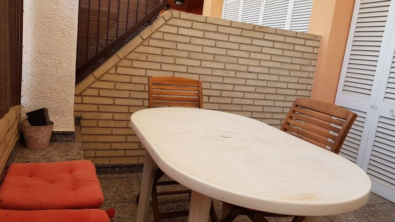 Vue de la terrasse Location Appartement 114966 Pineda de Mar