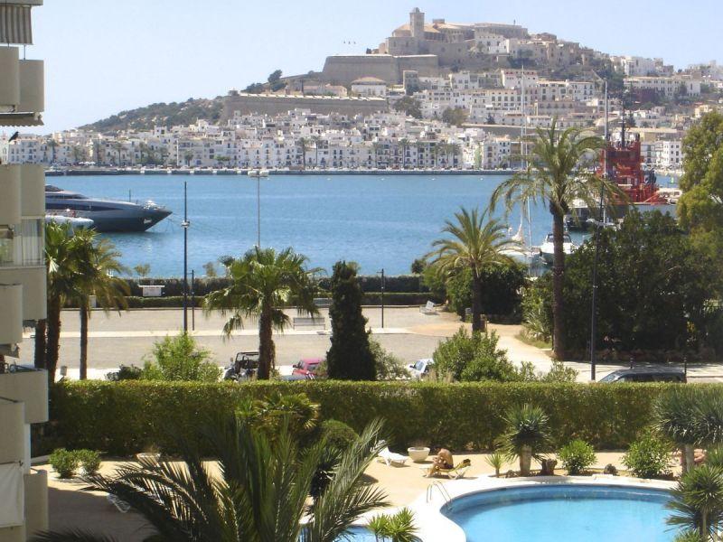 Vue de la terrasse Location Appartement 115304 Ibiza