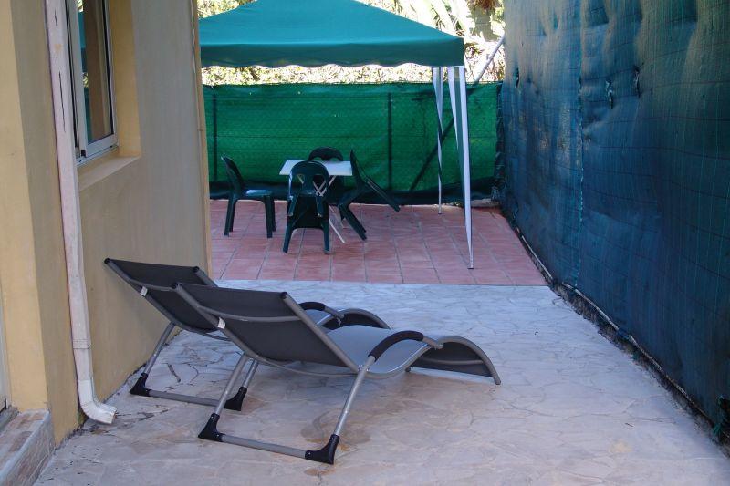 Vue de la terrasse Location Appartement 117365 Goyave