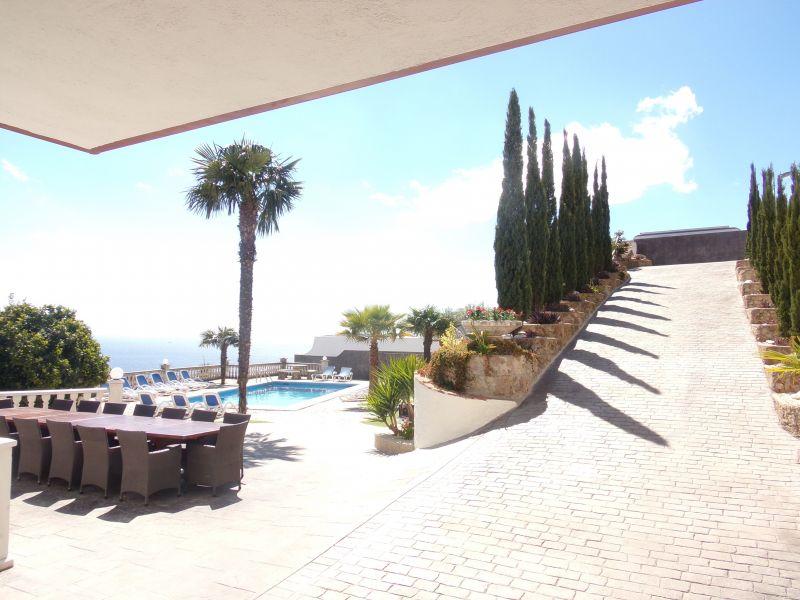 Vue extérieure de la location Location Villa 117948 Lloret de Mar