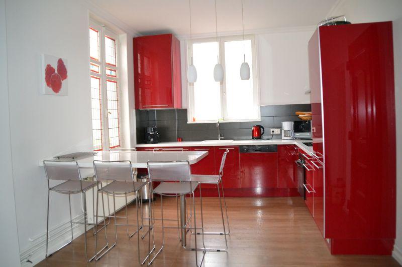Cuisine d'été Location Appartement 118316 Le Touquet