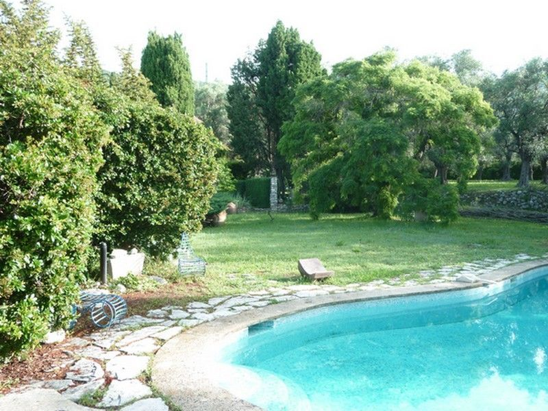 Jardin Location Villa 118551 Grasse