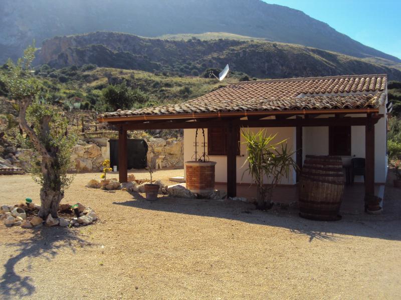 Vue depuis la location Location Villa 66027 Scopello