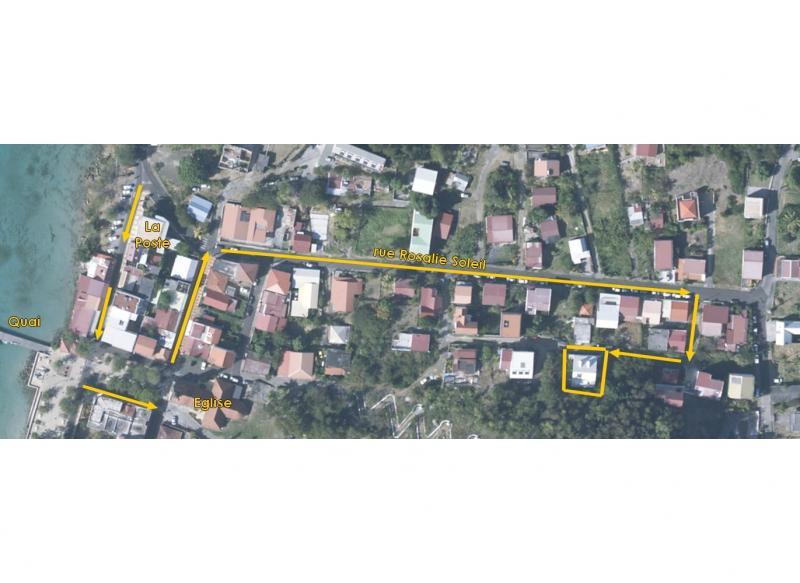 Carte Location Appartement 67787 Sainte Anne (Martinique)