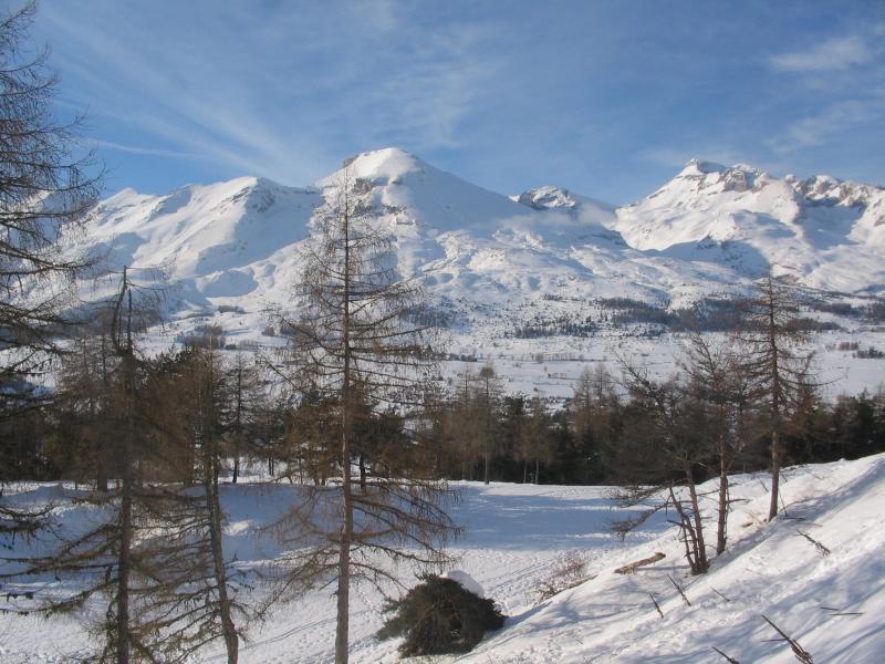 Vue de la terrasse Location Chalet 69489 La joue du Loup