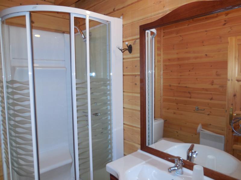 salle de bain 2 Location Chalet 69489 La joue du Loup