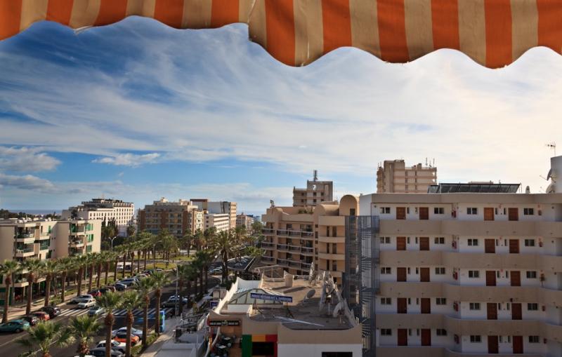 Vue du balcon Location Studio 70234 Playa de las Américas