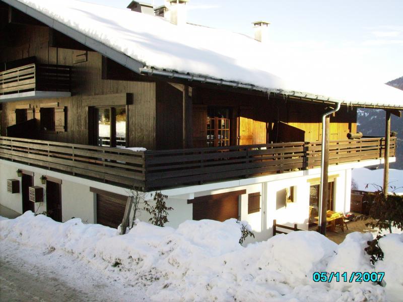 Vue extérieure de la location Location Appartement 74085 Saint Gervais Mont-Blanc