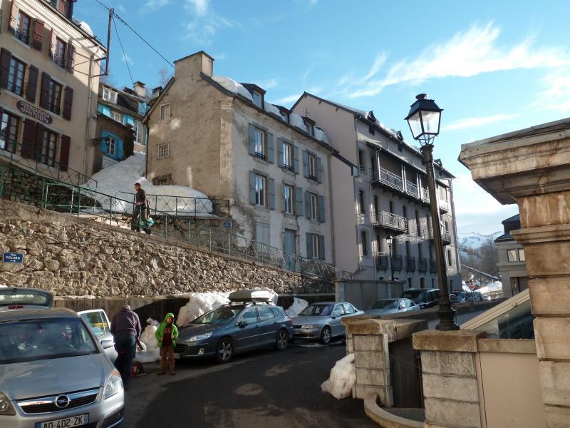 Vue extérieure de la location Location Appartement 74238 Barèges