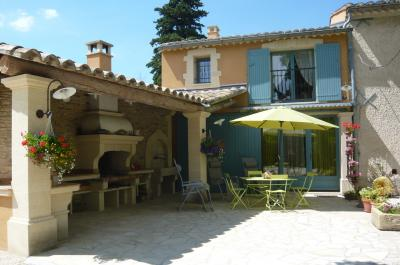 Terrasse Location Gite 75163 Avignon