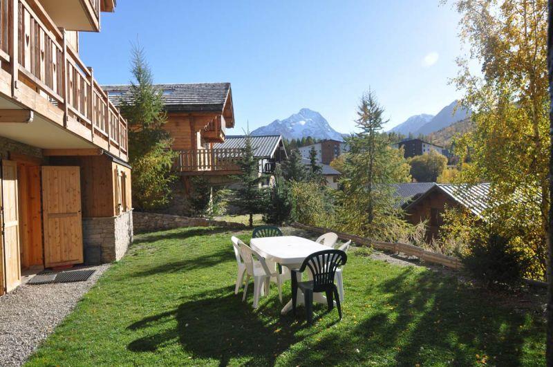 Vue de la terrasse Location Appartement 79747 Les 2 Alpes