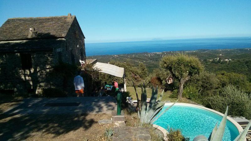 Vue extérieure de la location Location Maison 90781 Santa-Lucia-di-Moriani