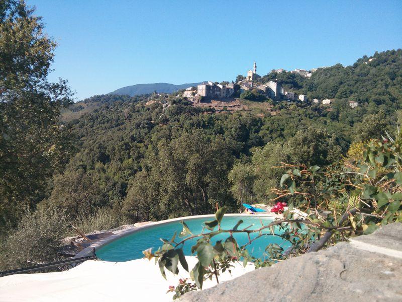 Vue de la terrasse Location Maison 90781 Santa-Lucia-di-Moriani