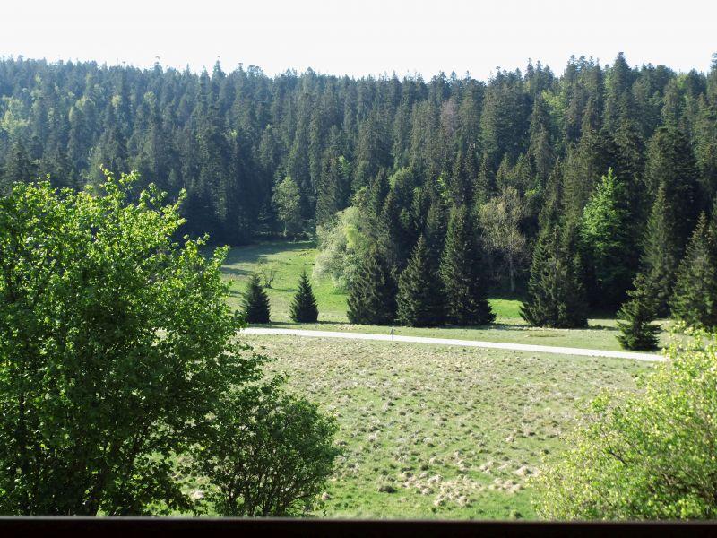 Vue du balcon Location Gite 90797 Gérardmer