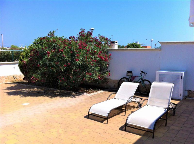 Vue de la terrasse Location Villa 94448 Pescoluse