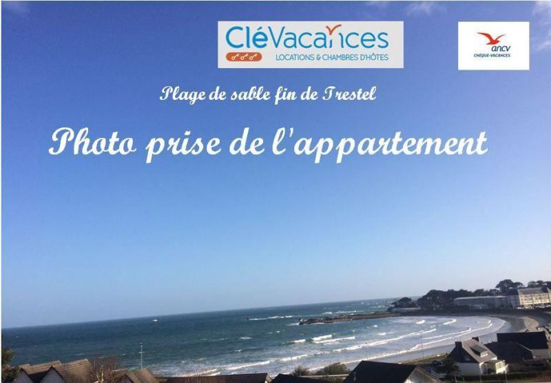 Vue depuis la location Location Appartement 94927 Perros-Guirec