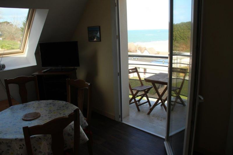 Vue du balcon Location Appartement 94927 Perros-Guirec