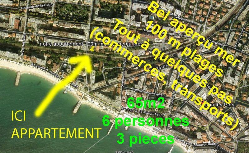 Vue autre Location Appartement 10385 Juan les Pins