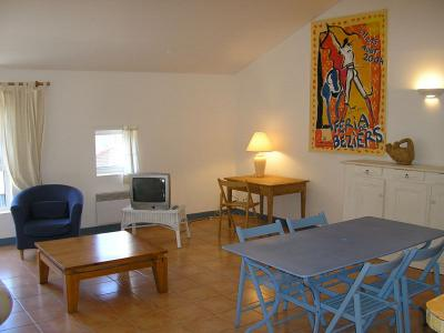 Salle à manger Location Appartement 10451 Sérignan Plage
