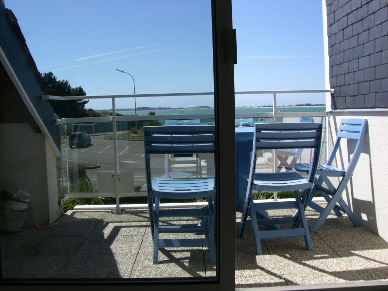 Vue de la terrasse Location Appartement 10676 Carnac