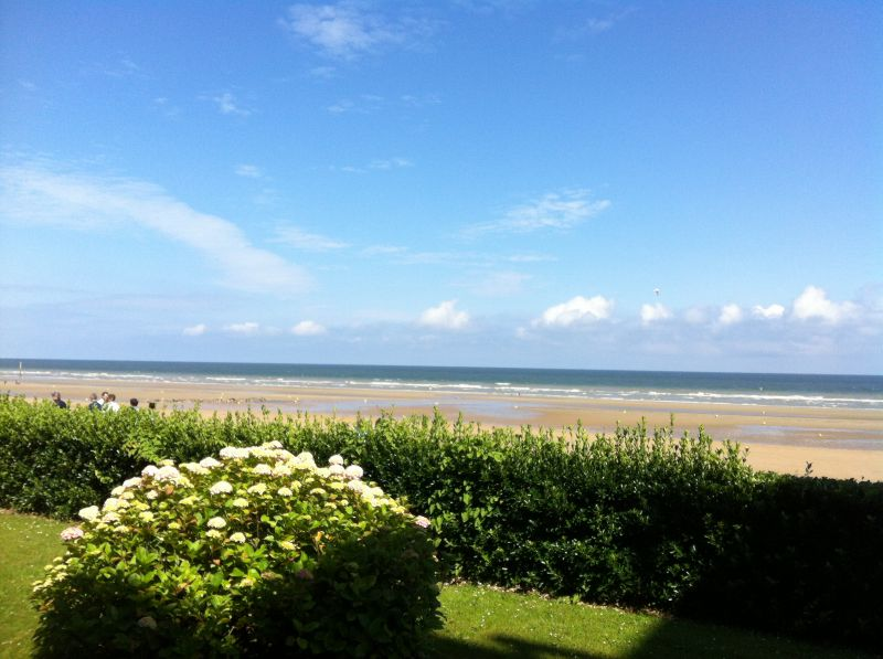 Vue de la terrasse Location Appartement 10748 Cabourg