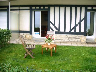 Vue de la terrasse Location Appartement 10748 Cabourg
