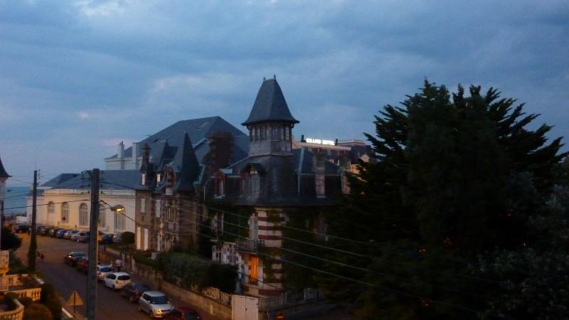 Vue du balcon Location Studio 10765 Cabourg