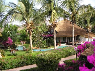 Vue ext�rieure de la location Location Villa 10817 Saly