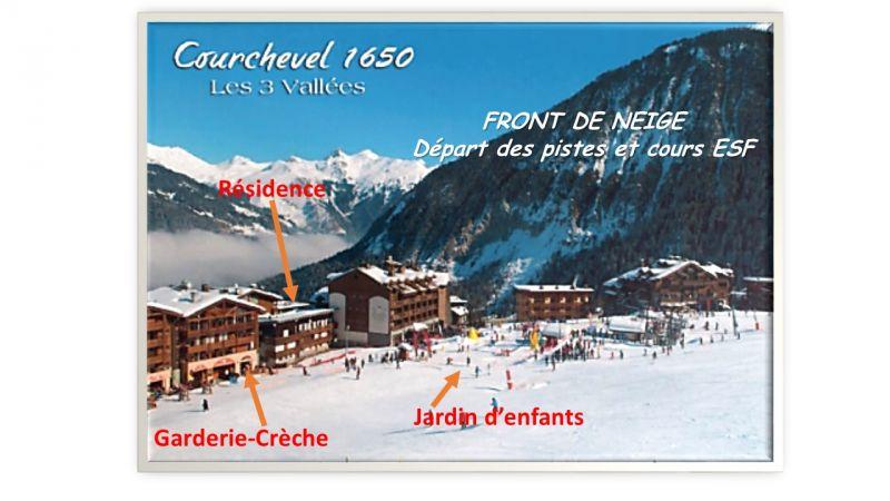 Vue à proximité Location Appartement 1084 Courchevel