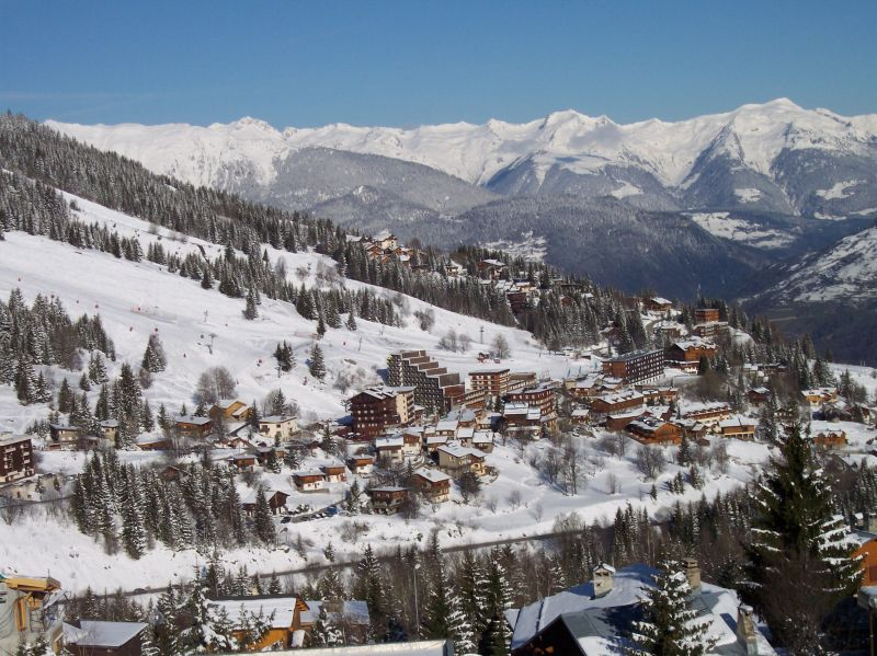 Vue du balcon Location Appartement 1084 Courchevel