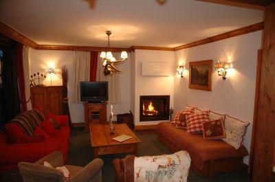 Salon Location Appartement 1090 Courchevel