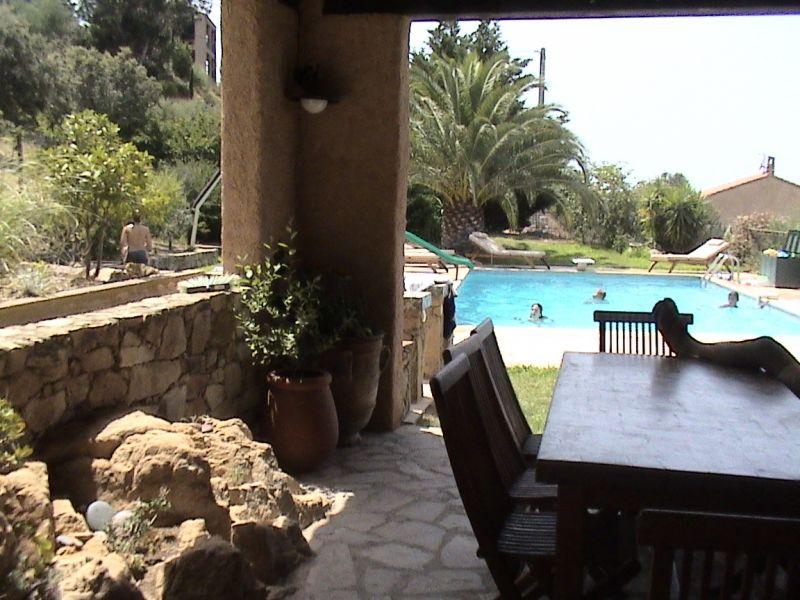 Vue de la terrasse Location Villa 11010 Lumio