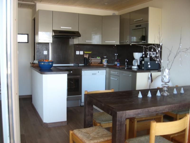Cuisine américaine Location Appartement 1106 Courchevel