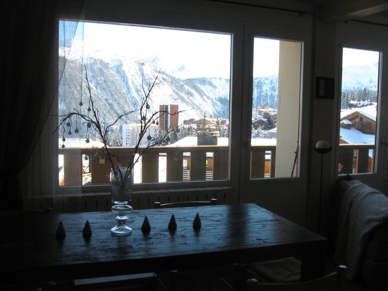 Vue depuis la location Location Appartement 1106 Courchevel