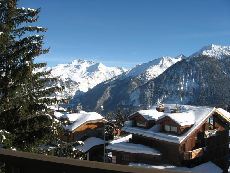 Vue du balcon Location Appartement 1106 Courchevel
